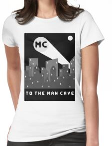 Man Cave 2 Womens Fitted T-Shirt