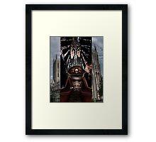 for the emporer Framed Print