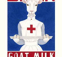 Drink Goat Milk! by Nasubionna