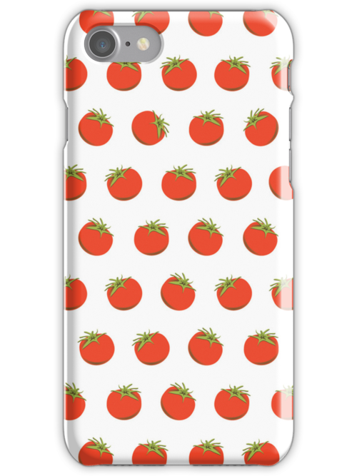 Sweet Red Tomato Picture Pattern by thejoyker1986