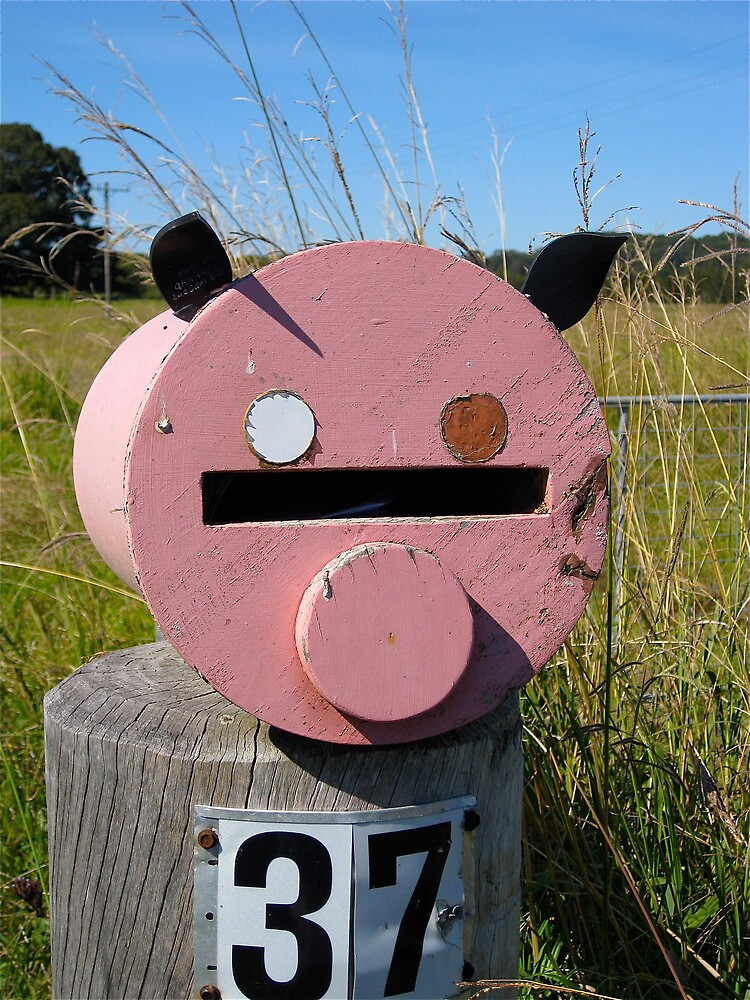 Pink Piggy # 4 by Penny Smith