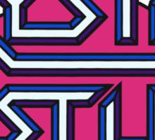 Crystal Castles Sticker