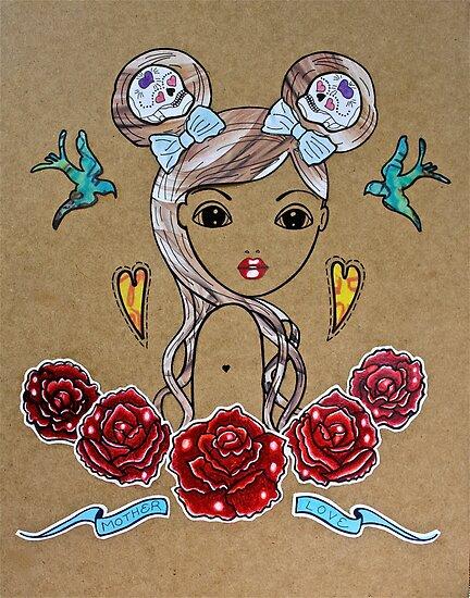 Mother Love by Vikki-Rae Burns