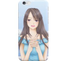 Angel's Smile iPhone Case/Skin
