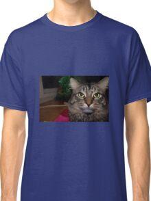 Cute Christmas Cat Classic T-Shirt