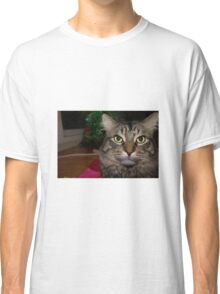 Cute Christmas Cat Classic T-Shirt