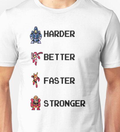 Harder Better Faster Megaman Unisex T-Shirt