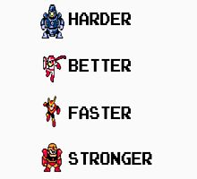 Harder Better Faster Megaman Unisex T-Shirt