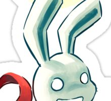 Moon Bunny 2 Sticker