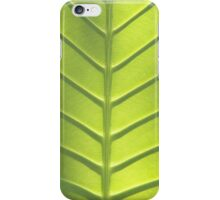 Leaf texture iPhone Case/Skin
