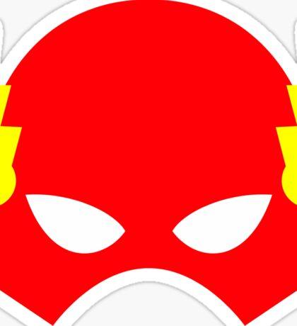 Super hero mask (Flash) Sticker