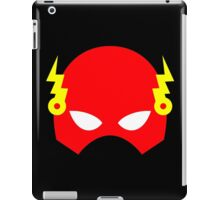 Super hero mask (Flash) iPad Case/Skin