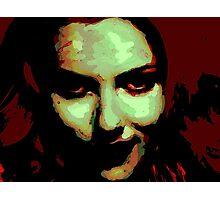 Zombie Girl ate my brains Photographic Print
