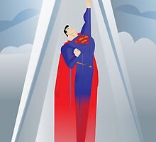 A Superman has appeared by Justin Valdivia