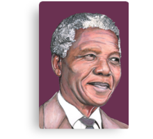 Mr Mandela Canvas Print