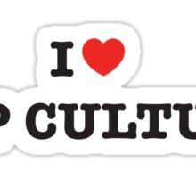 I Heart Pop Culture Sticker