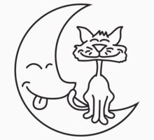 Cat On The Moon T-Shirt