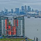City of London  from Woolwich  by Matt Eagles