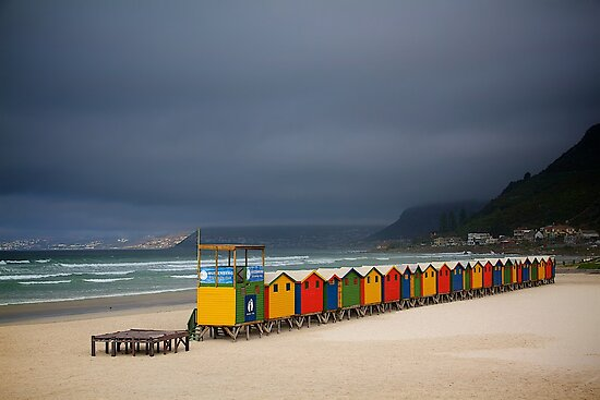 Muizenberg Beach by Fern Blacker