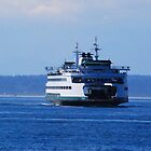 Ferry inbound from Bremerton by Tori Snow