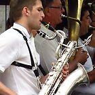 Saxophone and Tuba by wiggyofipswich