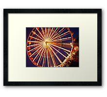 Feris wheel Framed Print
