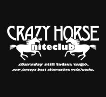 Crazy Horse (White Print) by GritFX