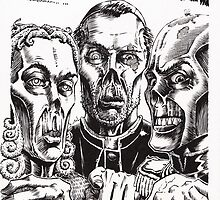 The Graveyard Book, 'The Ghouls' - ink by Gee Massam