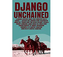 Django Unchained Movie Poster Photographic Print