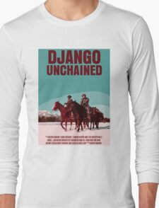 Django Unchained Movie Poster Long Sleeve T-Shirt