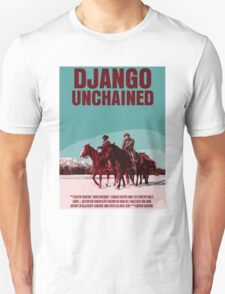 Django Unchained Movie Poster Unisex T-Shirt