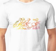 Happy Venture Rainbow Runners Unisex T-Shirt