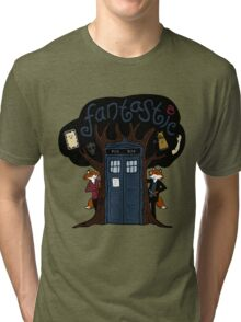 The Fantastic Doctor Nine (What Does the Ninth Say?) Tri-blend T-Shirt