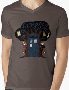 The Fantastic Doctor Nine (What Does the Ninth Say?) Mens V-Neck T-Shirt