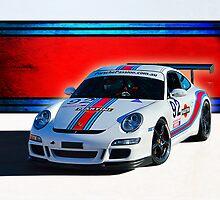 Porsche GT3 Martini by Stuart Row
