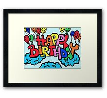 Happy birthday :) Framed Print