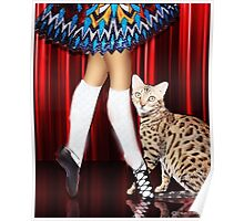 Dancing With My Cat Poster
