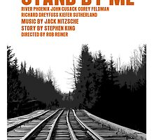 Stand By Me Movie Poster by FunnyFaceArt