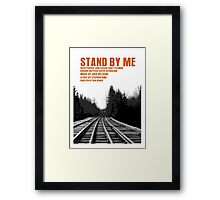 Stand By Me Movie Poster Framed Print