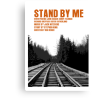 Stand By Me Movie Poster Canvas Print
