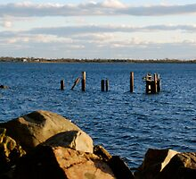 dock claimed by the sea by kejube