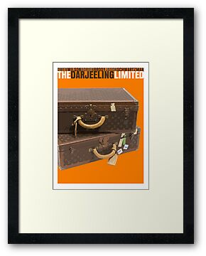 The Darjeeling Limited Movie Poster by FunnyFaceArt