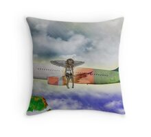 Blessed Cargo Throw Pillow