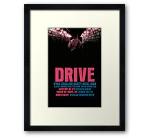 Drive Movie Poster Framed Print