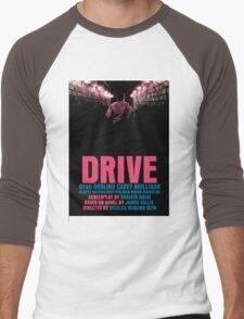 Drive Movie Poster Men's Baseball ¾ T-Shirt