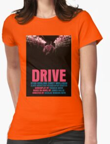 Drive Movie Poster Womens Fitted T-Shirt