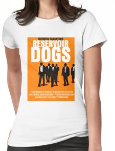 Reservoir Dogs Movie Poster Womens Fitted T-Shirt
