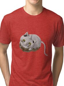 Al Cat Tri-blend T-Shirt