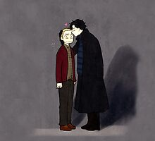 Sherlock&John by potatopencil