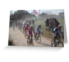 Paris - Roubaix 2013 Classic Cycle Race Greeting Card
